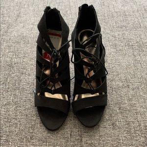 Madden Girl Black Heels (Brand New!)